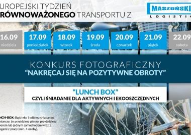 Europejski Tydzień Zrównoważonego Transportu w Maszoński Logistic