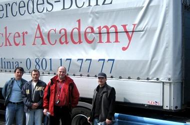 Szkolenie Mercedes-Benz Trucker Academy