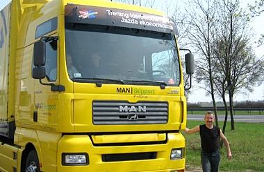 Trening kierowców MAN - STAR TRUCK