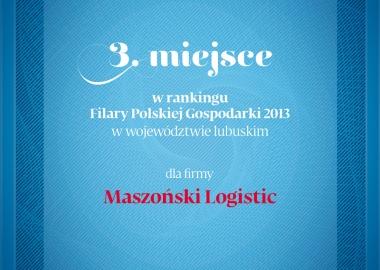 Maszoński Logistic Filarem Polskiej Gospodarki