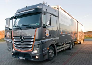Zakończyliśmy czterodniowy cykl szkoleń Mercedes-Benz Trucker Academy