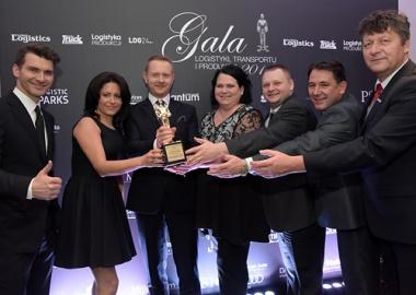 Maszoński Logistic zdobywcą złotego Godła Operator Logistyczny Roku