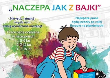 Naczepa jak z bajki - konkurs plastyczny dla dzieci Pracowników Maszoński Logistic